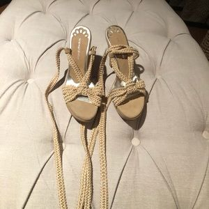 Nine West Studio Lace up heels NWT